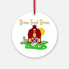 Scott Designs Farm Life Ornament (Round)