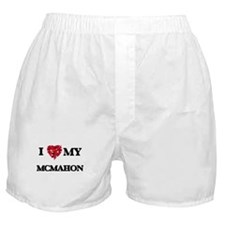 I Love MY Mcmahon Boxer Shorts