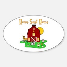 Scott Designs Farm Life Oval Decal