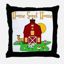 Scott Designs Farm Life Throw Pillow
