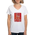 Sold my Soul to Satan Women's V-Neck T-Shirt
