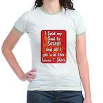 Sold my Soul to Satan Jr. Ringer T-Shirt