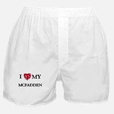 I Love MY Mcfadden Boxer Shorts