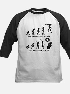 Skateboarding Kids Baseball Jersey