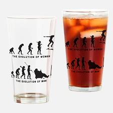 Skateboarding Drinking Glass