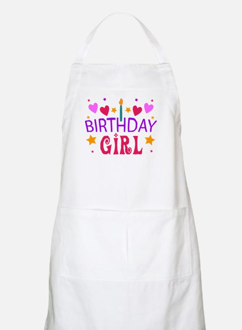 Birthday Girl BBQ Apron