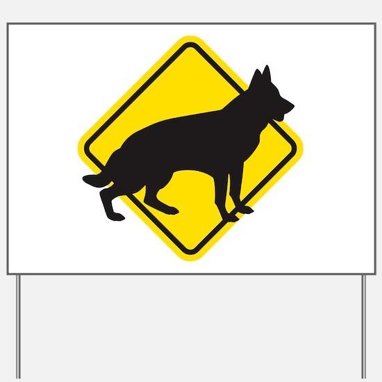 Shepheard X-ing Yard Sign