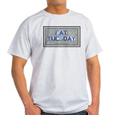 Fat Tuesday Ash Grey T-Shirt