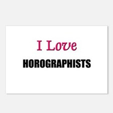 I Love HOROGRAPHISTS Postcards (Package of 8)