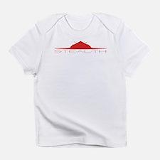 Red F-117 Nighthawk Infant T-Shirt