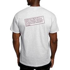 Light Color T-Shirt