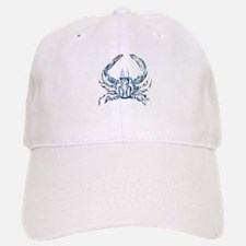 coastal nautical beach crab Baseball Baseball Cap