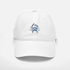 coastal nautical beach crab Baseball Baseball Cap