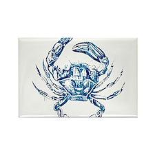 coastal nautical beach crab Magnets