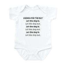 Doggied Days Infant Bodysuit