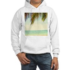 tropical sky summer beach Hoodie