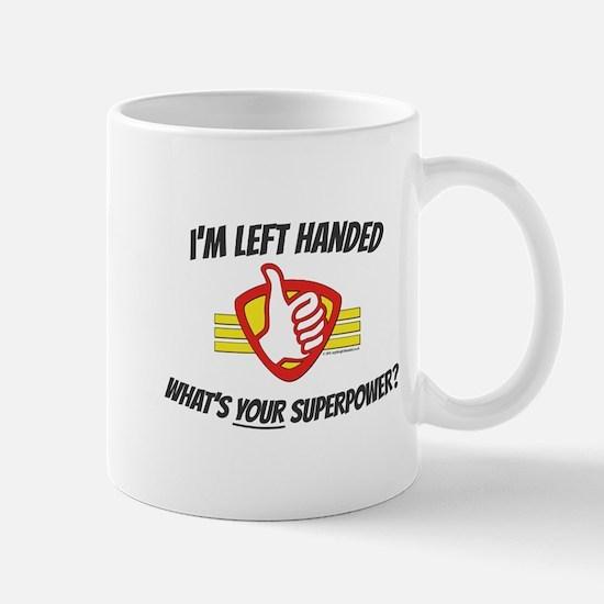 Mug: L H Superpower Plain Mugs