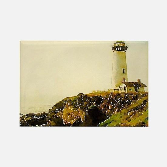 vintage coastal lighthouse Magnets