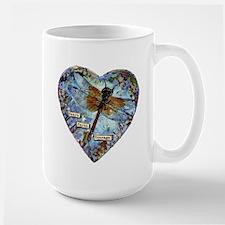 heart faith courage Mugs