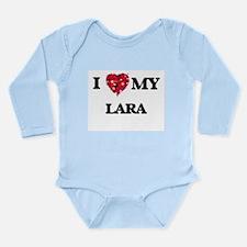 I Love MY Lara Body Suit
