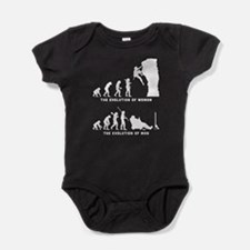 Rock Climbing Baby Bodysuit