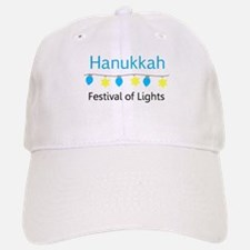 Hanukkah Festival of Lights Baseball Baseball Baseball Cap