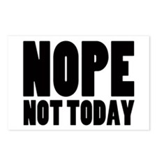 Nope Not Today Postcards (Package of 8)