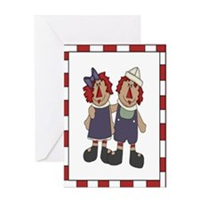 Annie and Andy Greeting Card