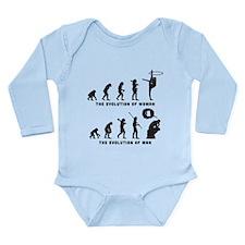Rhythmic Gymnastic Long Sleeve Infant Bodysuit