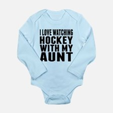 I Love Watching Hockey With My Aunt Body Suit