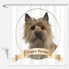 Cairn Terrier Shower Curtain