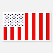 Civil Flag Rectangle Decal