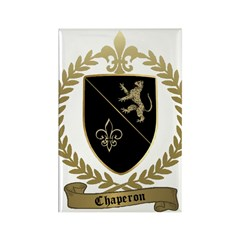CHAPERON Family Crest Rectangle Magnet