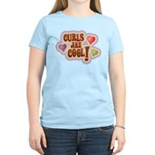 Curls and Hearts Are Cool! T-Shirt