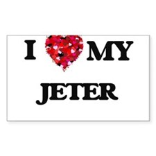 I Love MY Jeter Decal