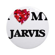 I Love MY Jarvis Ornament (Round)