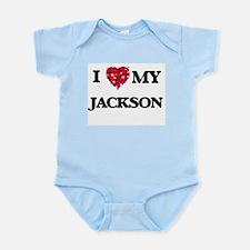 I Love MY Jackson Body Suit