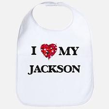 I Love MY Jackson Bib