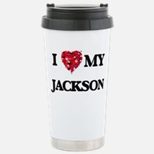I Love MY Jackson Travel Mug