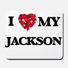 I Love MY Jackson Mousepad