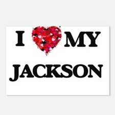 I Love MY Jackson Postcards (Package of 8)