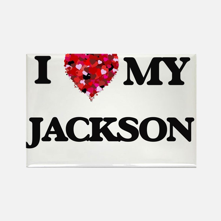 I Love MY Jackson Magnets