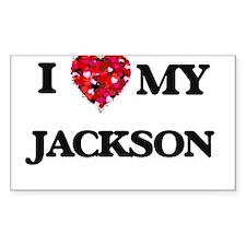I Love MY Jackson Decal