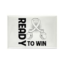 Retinoblastoma Win Rectangle Magnet