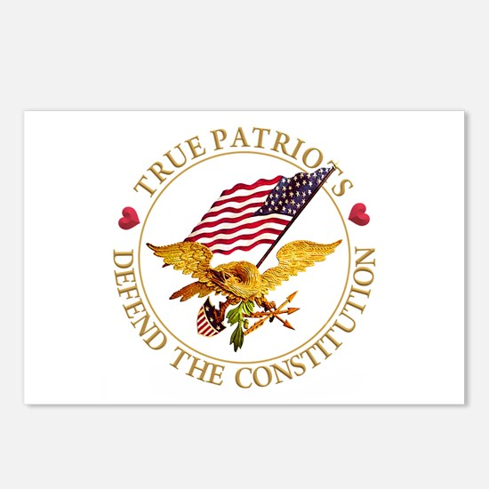 True Patriots Defend the Postcards (Package of 8)