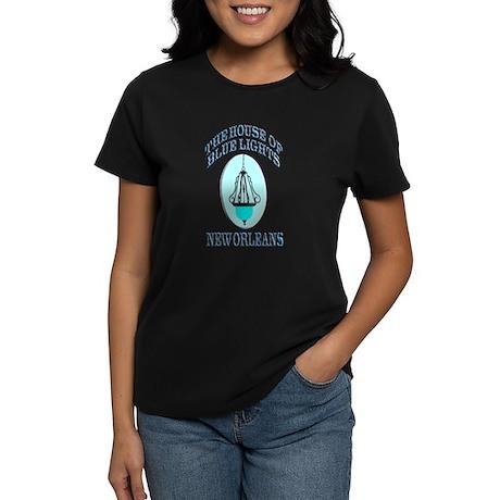 House of Blue Lights Women's Dark T-Shirt