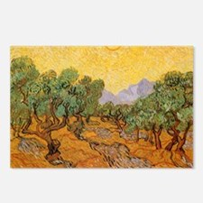 Van Gogh Olive Trees Yell Postcards (Package of 8)
