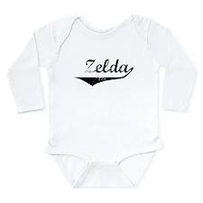 Cute Zelda Long Sleeve Infant Bodysuit
