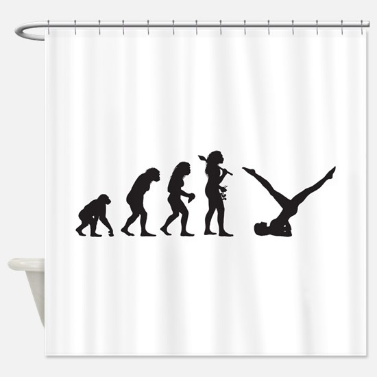 Pilates Shower Curtain