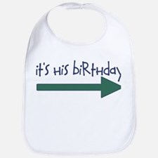 It's His Birthday Bib